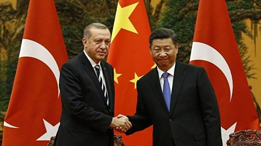 Arşiv:  Cumhurbaşkanı Recep Tayyip Erdoğan, Çin Devlet Başkanı Şi Cinping