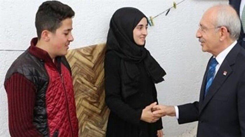 Kılıçdaroğlu'nun 'manevi kızı' ilan ettiği Özge Biçer'i ve köylüleri 3 kez ziyaret etti.
