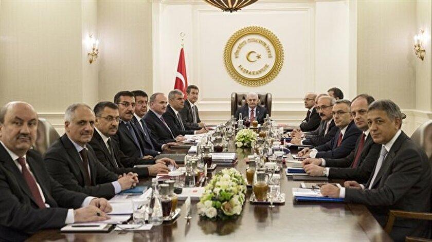Ekonomi Koordinasyon Kurulu toplantısı