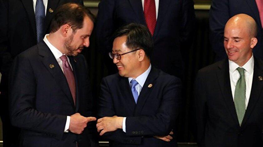 Hazine ve Maliye Bakanı Berat Albayrak'tan Arjantin'de yoğun enerji diplomasisi.