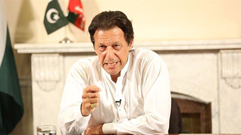 Pakistan Adalet Hareketi lideri İmran Han.
