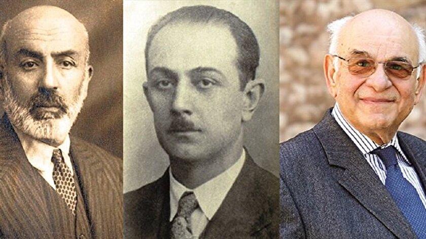Mehmet Akif Ersoy, Mahir İz ve Uğur Derman