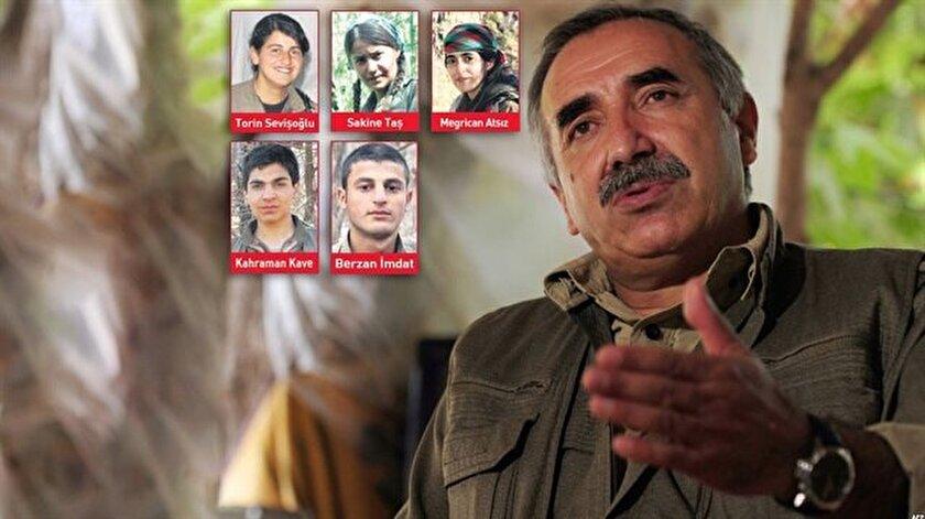 Murat Karayılan'ın sapkınlıklarını itiraf ettiler.