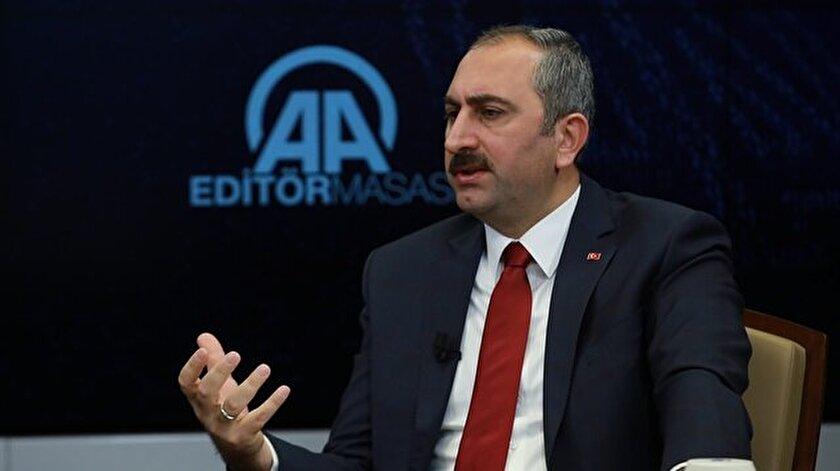 Adalet Bakanı: Elde edilen bulgulara göre adım atacağız