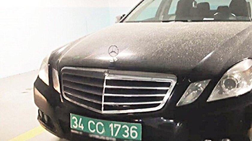 Polis, araçta inceleme yapabilmek için Başkonsolosluk ve Başsavcılıktan izin talebinde bulundu.