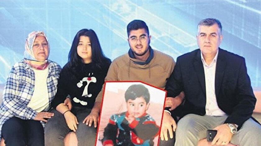 Selam ailesi, 21 yıl önce Hatay'da kaçırılan oğulları Gürsel'e kavuştu.