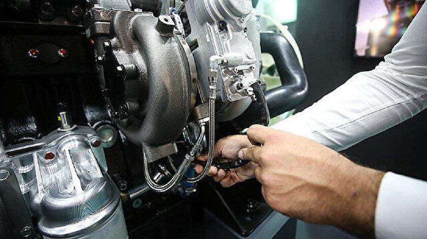 Yüzde yüz yerli motorun prototipi çalıştı