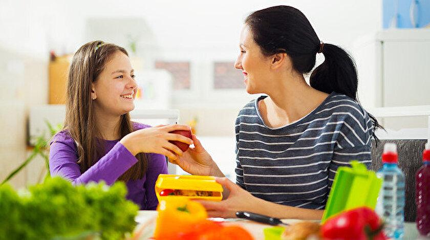 Çocuğunuzda gözlemlediğiniz değişimi yaşamın doğal bir süreci olarak benimseyin.