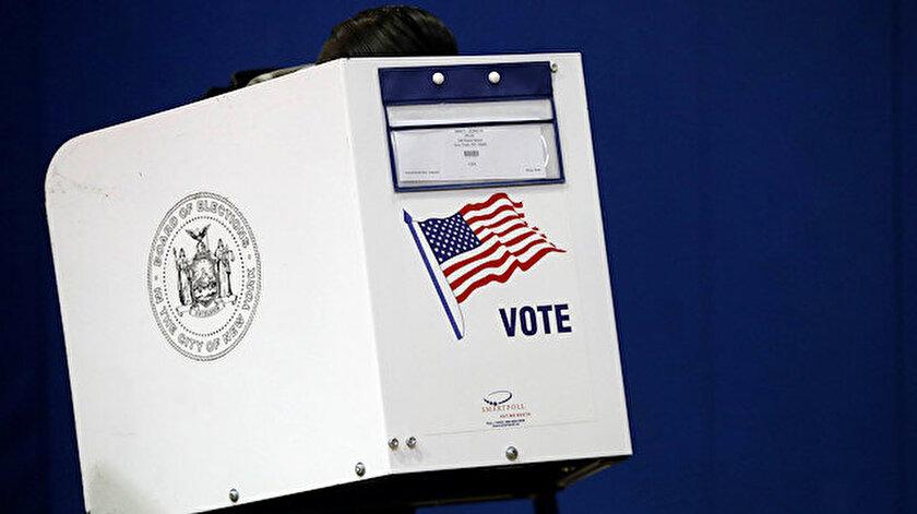 ABD'de oy verme işlemi başladı.