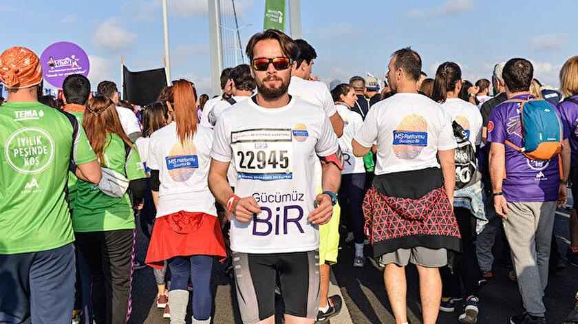 İstanbul Maratonunu ters koştu