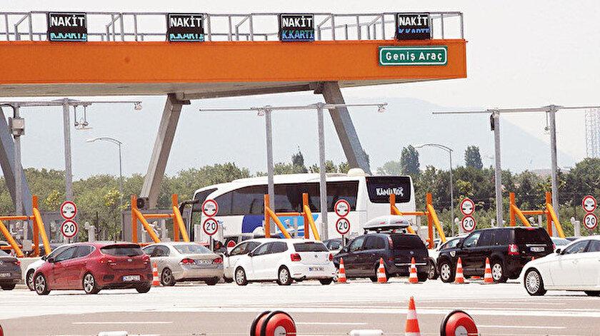 Osmangazi Köprüsü'nde HGS çilesi yaşanıyor