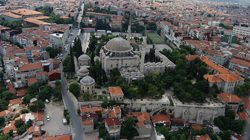 İstanbul Fatih'te bulunan Yavuz Selim Cami.