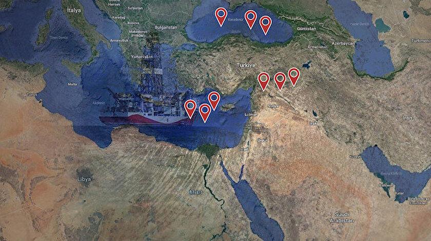 ABD Türkiyenin etrafını çevreliyor