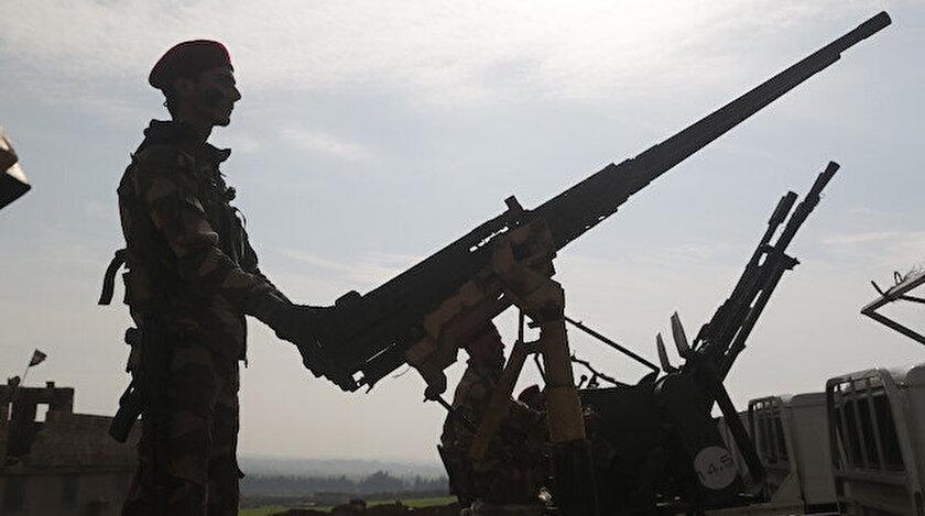 Özgür Suriye Ordusu'na (ÖSO) bağlı Hamza Tugayları