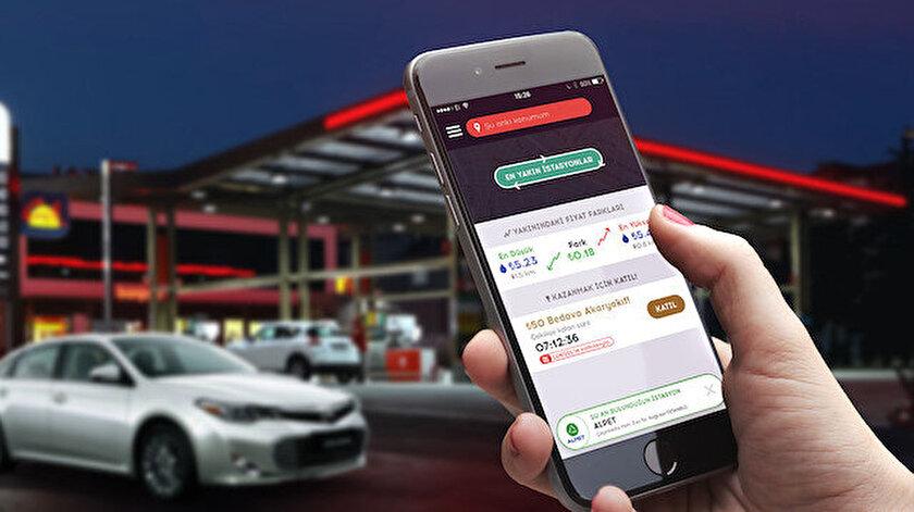 BenzinLitre uygulaması günlük 1.200 kişi tarafından kullanılıyor.