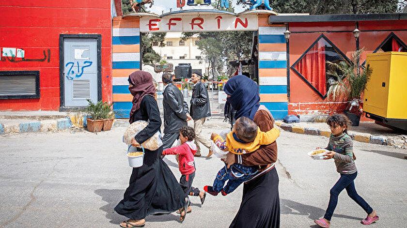 Binlerce dönüm arazi, yüzlerce ev ve iş yeri harekat sonrası Afrinli gerçek sahiplerine teslim edildi.