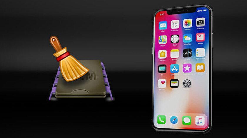 iPhone RAM temizleme işlemi cihazın performansını arttırıyor.