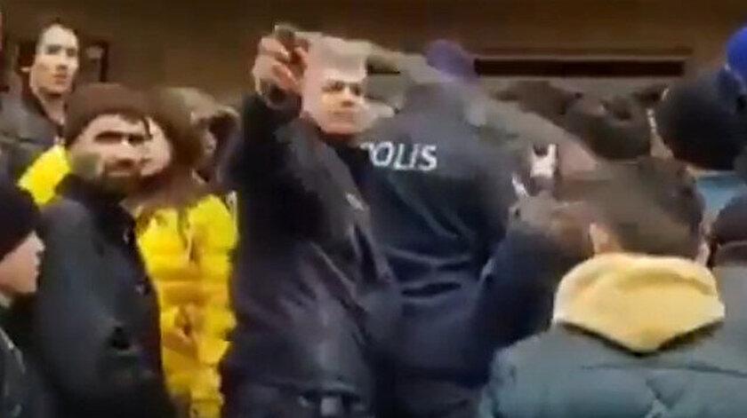 Denizli'de polisin biber gazıyla mültecilere saldırması tepki topladı.
