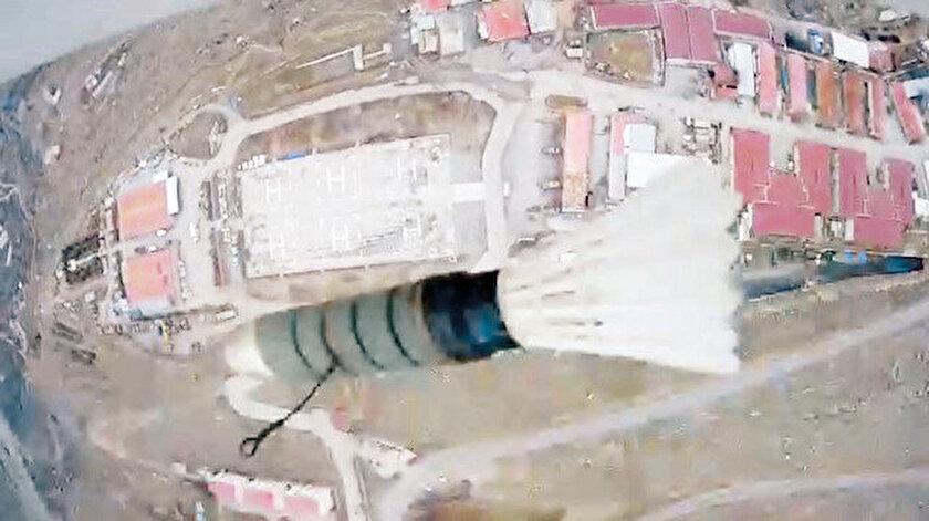PKK geçen hafta da Çukurca ve Silopi'de motorlu planörle saldırı girişiminde bulunmuştu.