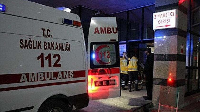 Olay yerine gelen sağlık ekipleri, işçinin hayatını kaybettiğini belirledi.