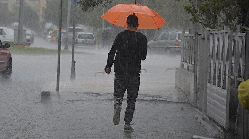 Meteorolojiden bazı illere yağış uyarısı yapıldı.