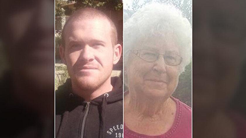 Yeni Zelanda teröristi Avustralyalı Brenton Tarrant ve babaannesi Joyce Tarrant.