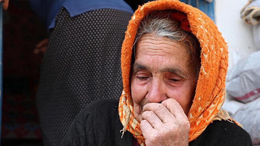 İneği öldüğü için ağlayan Sabiha Nine'ye iki inek hediye edildi.