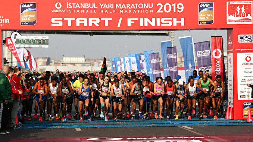 İstanbul Yarı Maratonuna Kenya damgası