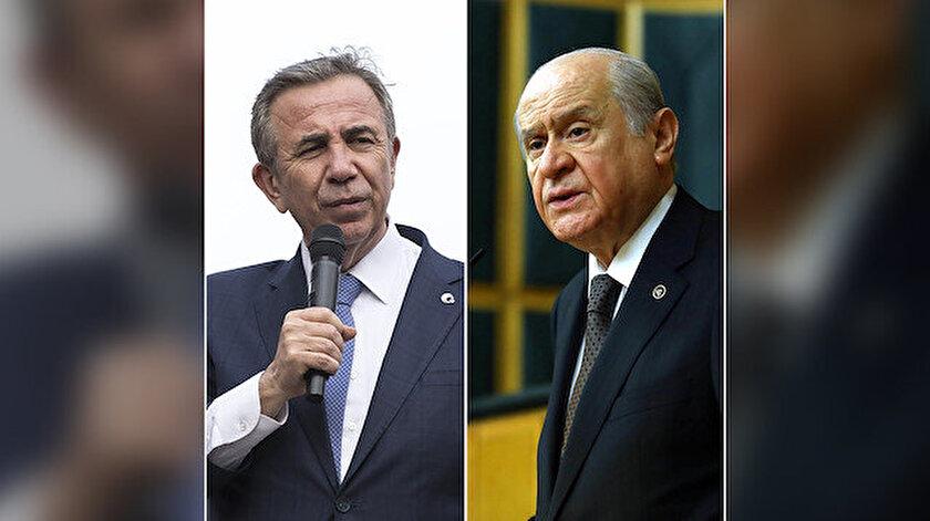 Devlet Bahçeli Mansur Yavaş cevabı - Mansur Yavaş benim belediye başkanım değil