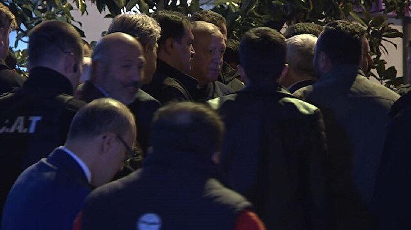 Cumhurbaşkanı Erdoğan, vatandaşlarla sohbet etti.