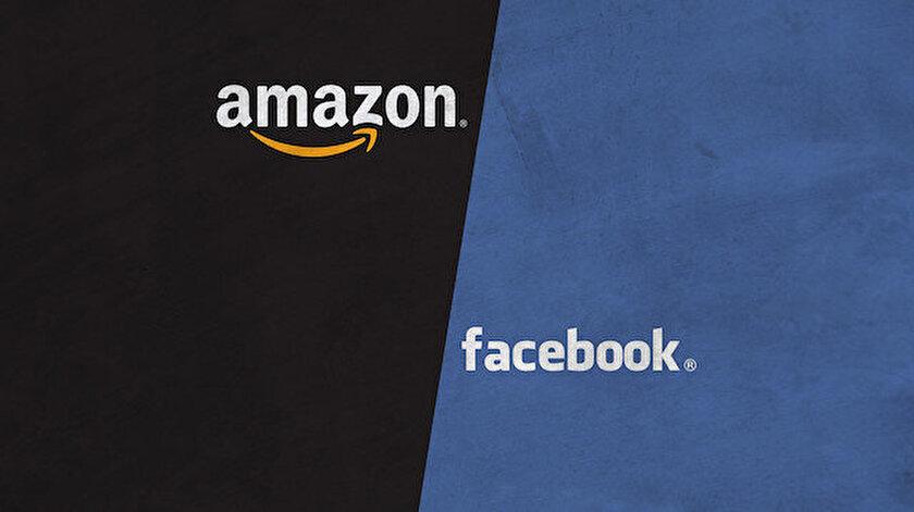 Rapora göre, küresel ölçekte en büyük bilişim şirketleri arasında bulunan Amazon ve Facebook, listedeki önemli firmalar olarak ön plana çıktı.