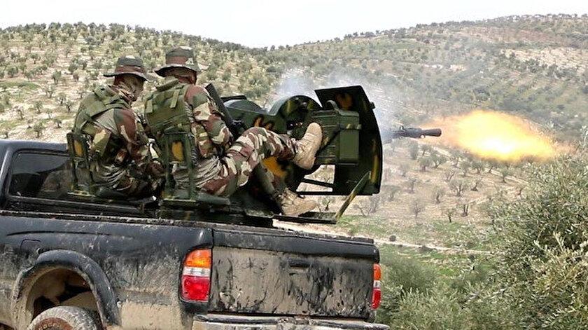 Özgür Suriye Ordusuna bağlı birlikler Maranez köyünü, PKK'lı teröristlerden kurtardı.