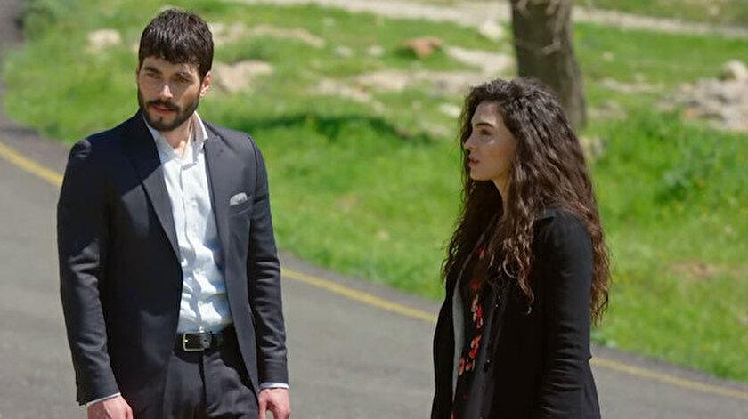 Hercai dizisinin baş rolünde Akın Akınözü ve Ebru Şahin rol alıyor.