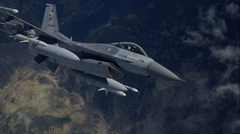 TSK, terör örgütü hedeflerine hava harekatı düzelendi.