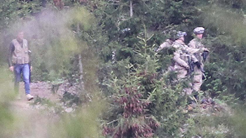 Güvenlik güçleri, Karadeniz'de PKK'ya operasyon düzenledi.