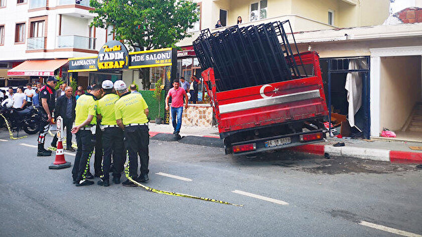 Kaza önceki gün, 17.15 sıralarında Battalgazi Mahallesi Selçukhan Caddesi üzerinde meydana geldi.