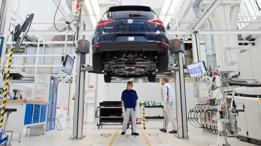 Eurostat, AB sanayi üretim rakamlarını açıkladı.
