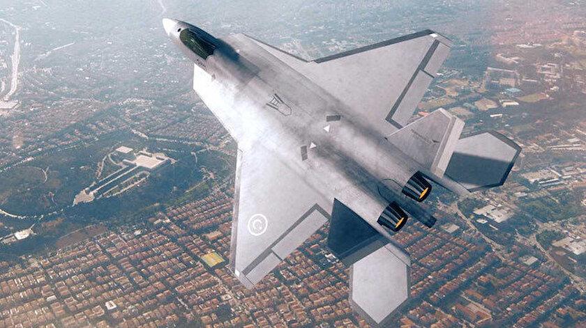 Milli Muharip Uçak Paris Airshow'da sergilenecek.