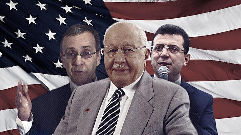 Erbakan hükumetini deviren  ABD'li Alan Makovsky ve ekibi, yerel seçimler öncesi İmamoğlu'na destek veriyor.