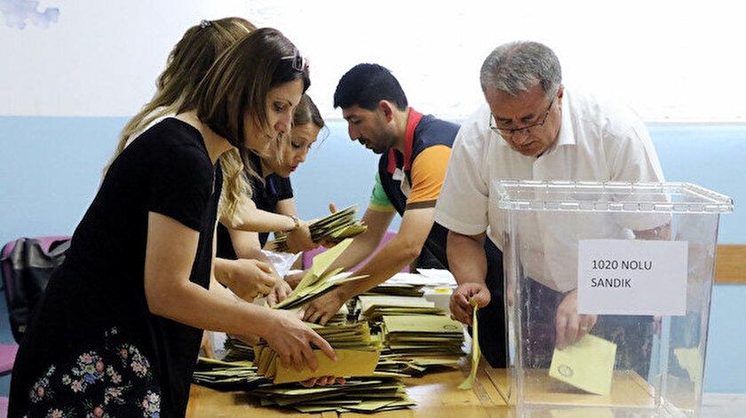 İstanbul seçiminde oy verme işlemi sona erdi
