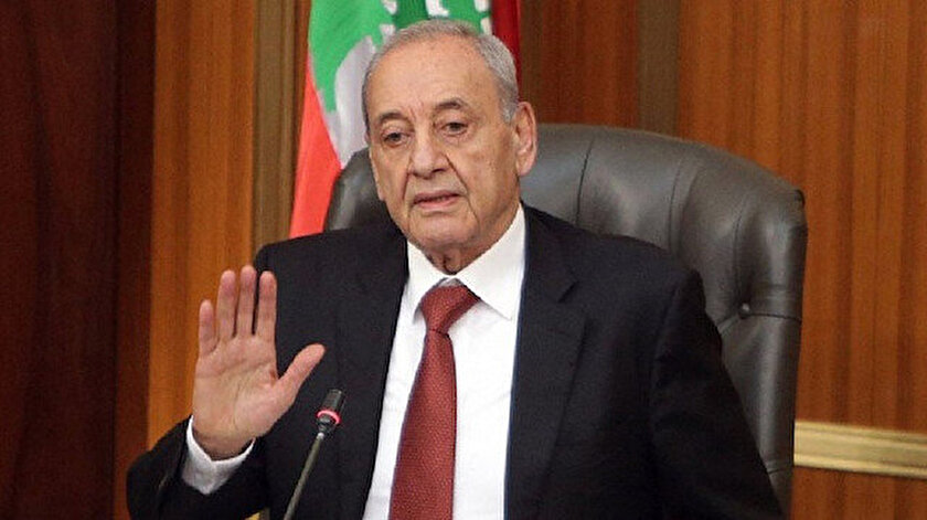 Nebih Berri'nin Basın Ofisi'nden yazılı açıklama yapıldı.