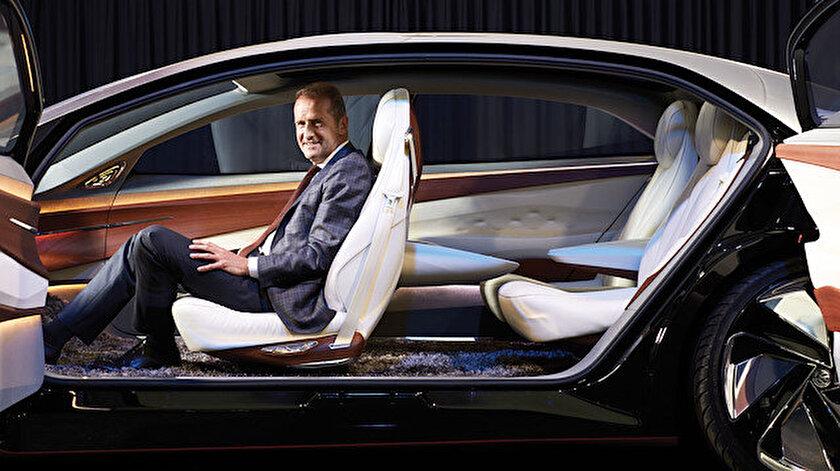 VW CEO'su Herbert Diess