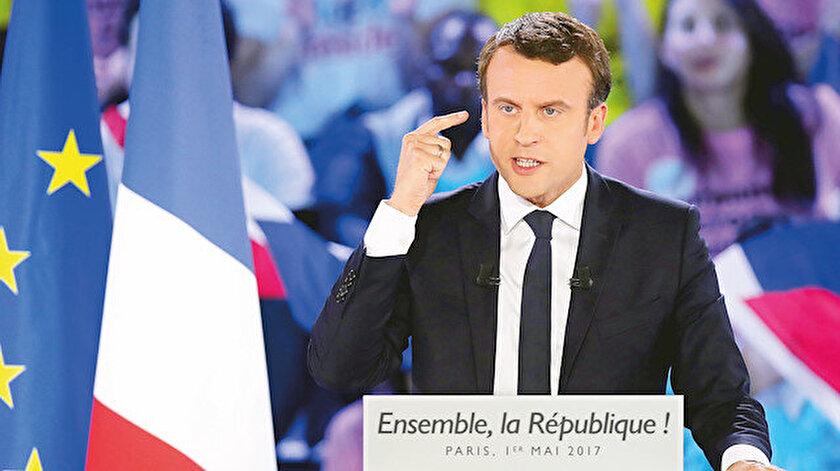 Fransa Cumhurbaşkanı Emanuel Macron