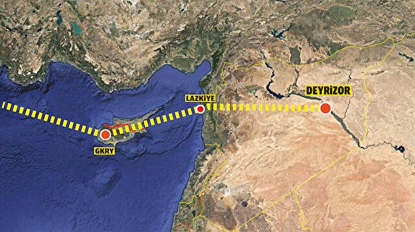 Uyuşturucu rotası Deyrizor'a kaydı