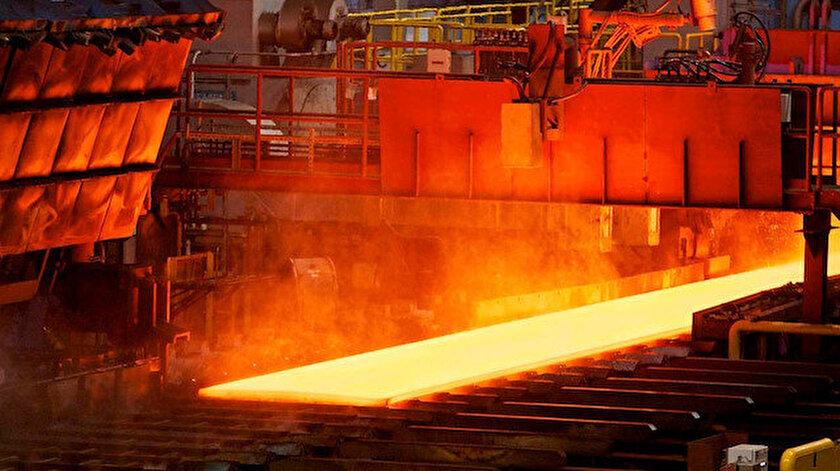 Ham çelik üretimine ilişkin veriler açıklandı.