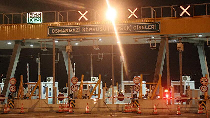 Osmangazi Köprüsünde düzensiz göçmen operasyonu