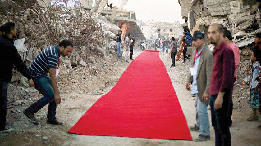 Kırmızı Halı Festivali, maddi imkansızlıklar yüzünden Filistin'de yapılamıyor.