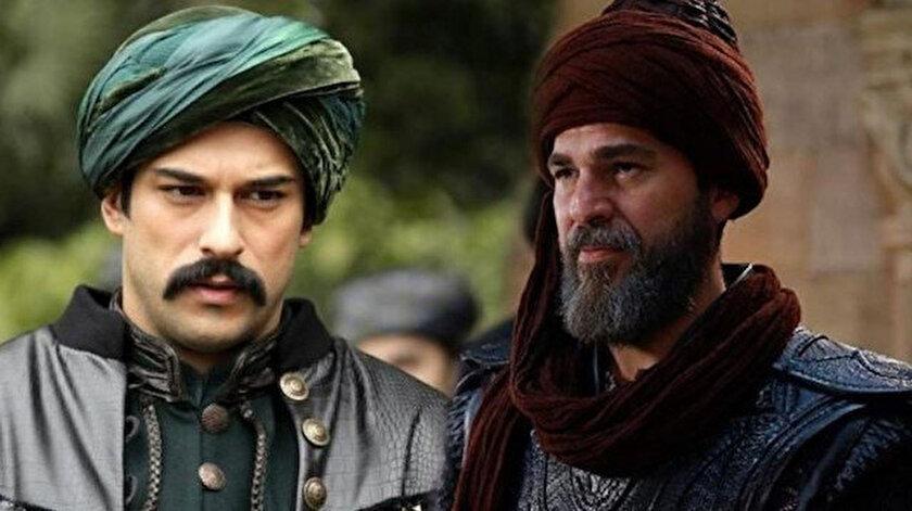Burak Özçivit (solda) ve Engin Altan Düzyatan (sağda)