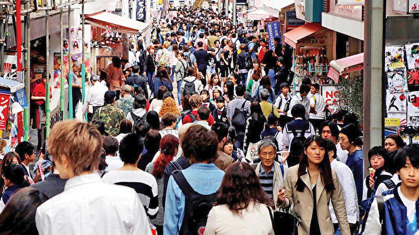 Dünyanın en kalabalık kenti, 38 milyon nüfusuyla Japonya'nın başkenti Tokyo.
