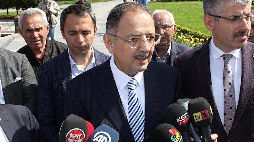 AK Parti Genel Başkan Yardımcısı Mehmet Özhaseki